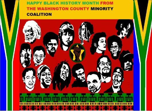 Happy Black History Month from the Washington County Minority Coalition!